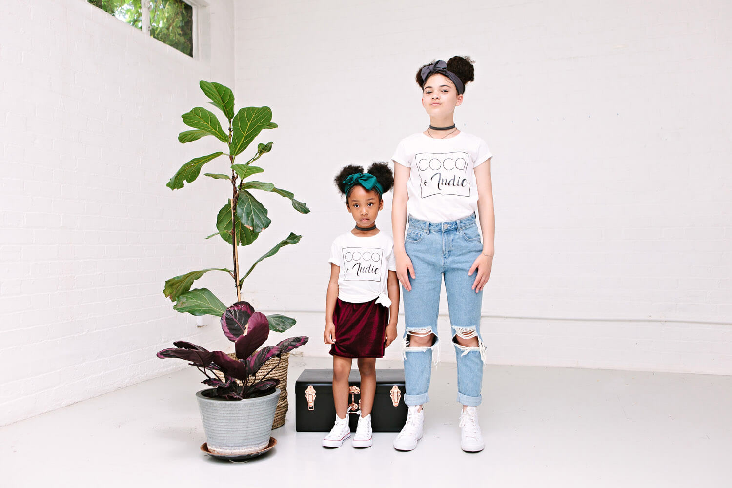 coco and indie women's t-shirt