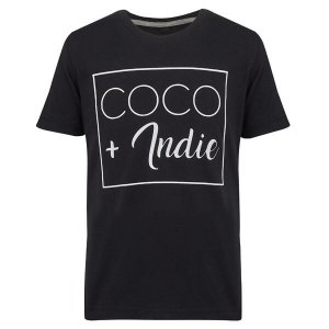 coco and indie kids t-shirt black