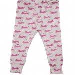 Sas & Yosh Leopard Leggings Pink